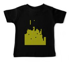 Yellow Squares Baby Tee
