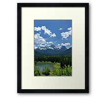 Distant Towers Framed Print