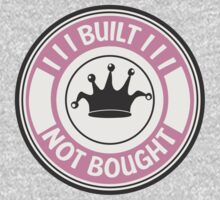 Jdm built not bought badge - pink by TswizzleEG