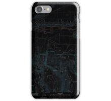 USGS Topo Map Oregon Sprague River East 20110719 TM Inverted iPhone Case/Skin