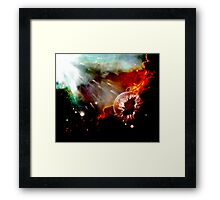 globel warming Framed Print