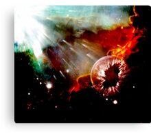 globel warming Canvas Print