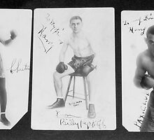 Brooklyn Boxers Vintage Boxing Postcards  by Jonathan  Green