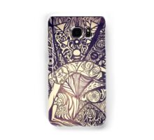 Chakrasana, just open your heart Samsung Galaxy Case/Skin