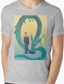 Me  and  the  dragon! Mens V-Neck T-Shirt
