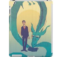 Me  and  the  dragon! iPad Case/Skin