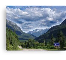 A Road Less Traveled Canvas Print