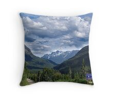 A Road Less Traveled Throw Pillow