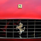 Ferrari Hood Emblem by Jill Reger