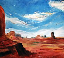 Monument Valley by Gerard Mignot