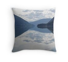Evening, Lower Arrow Lake (1) Throw Pillow