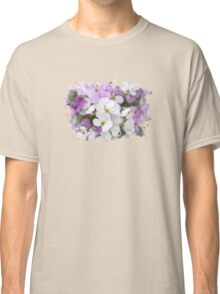 Wildflower Watercolor Classic T-Shirt
