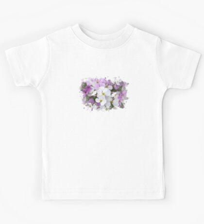 Wildflower Watercolor Kids Tee