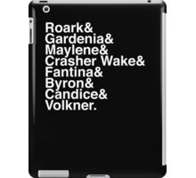Helvetica Pokemon Sinnoh Gym Leaders iPad Case/Skin
