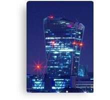 the walkie talkie building london Canvas Print