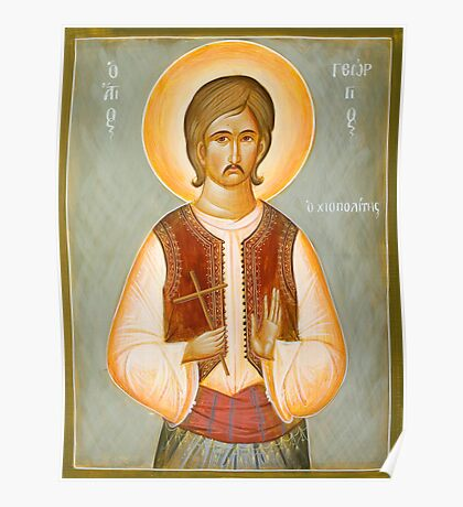St George of Chios Poster