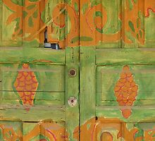 Mexican Door by Pilar Law
