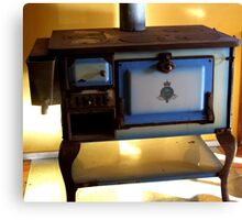 The New Stove Canvas Print