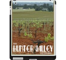 The Hunter Valley Retro Travel Poster iPad Case/Skin