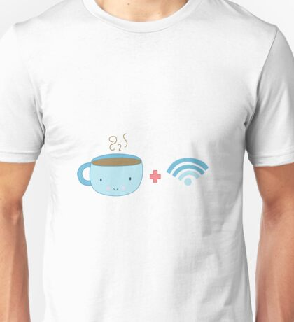 Coffee and Wifi Unisex T-Shirt