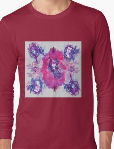 The ones  with the flowers Long Sleeve T-Shirt