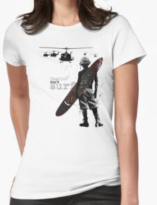 Charlie Don't Surf Womens Fitted T-Shirt