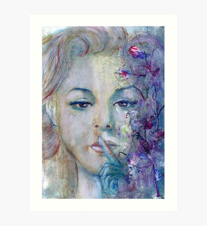 One must be very quiet ... Art Print
