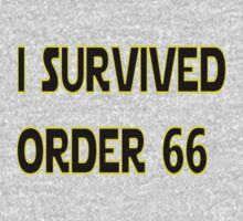 I Survived Order 66 Kids Tee