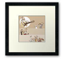 sing song Framed Print