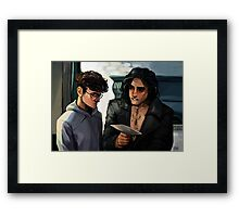 What's Life Without A Little Risk? Framed Print