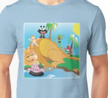 Larravide The Gang at the Watering Hole Unisex T-Shirt