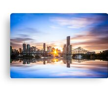Story Bridge Reflections Canvas Print