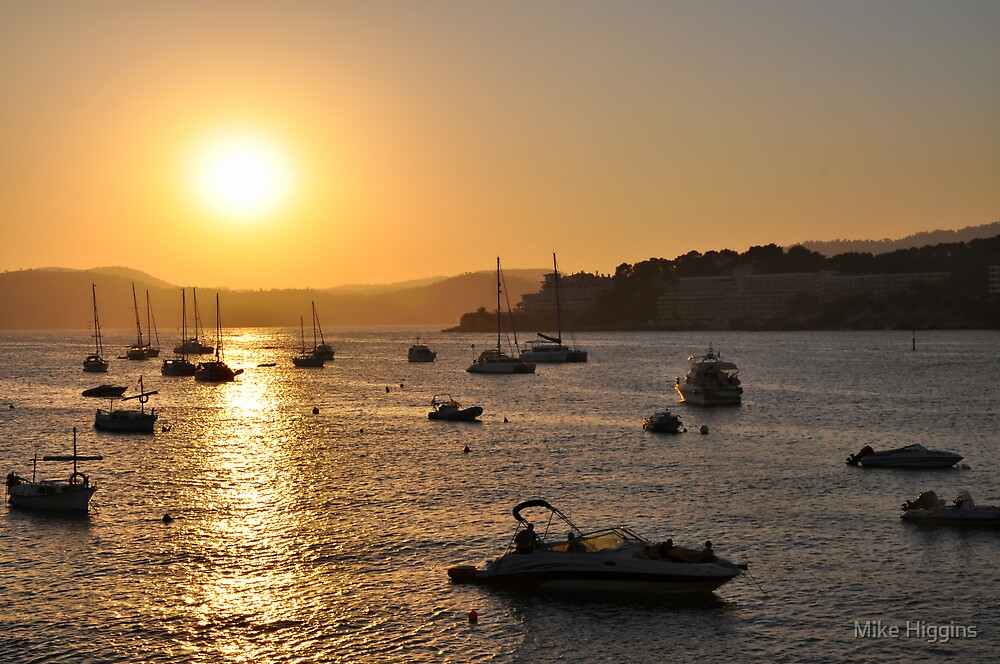 Mallorca sunset by Mike Higgins
