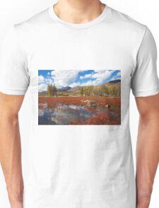 Red Grass Beach Unisex T-Shirt