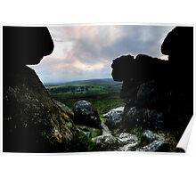 Dusk on Dartmoor Poster