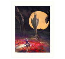 Harvest Moon Art Print