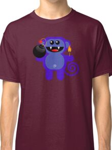 MUNKEY 4  (Cute pet has a bomb and its alight!) Classic T-Shirt