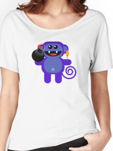 MUNKEY 4  (Cute pet has a bomb and its alight!) Women's Relaxed Fit T-Shirt