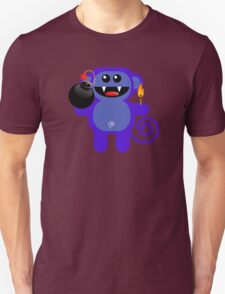 MUNKEY 4  (Cute pet has a bomb and its alight!) Unisex T-Shirt