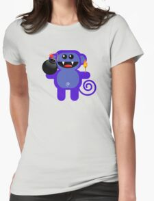 MUNKEY 4  (Cute pet has a bomb and its alight!) T-Shirt