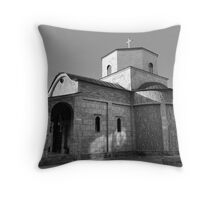 Church of Holy Mary Throw Pillow