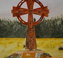 Celtic Cross by Veron Miller