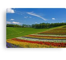 Flower Hill Canvas Print