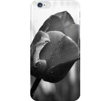 Monochrome Tulips iPhone Case/Skin