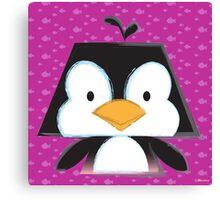 Mimalitos - Penguin Canvas Print