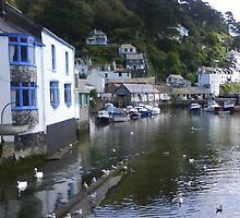 Polperro- Fishing village by veroniquesusant