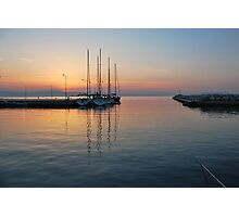 quiet before dawn  Photographic Print