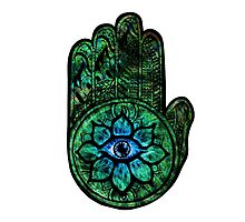 Psychedelic Holy Hand by John Ferrera
