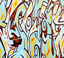 Bondi Graffiti  by Jason Dymock Photography
