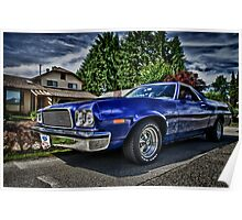 Ford Ranchero...HDR Poster